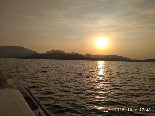 Bhandardara Mini Island Sunset