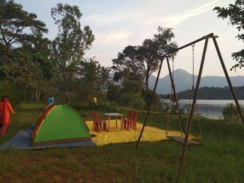 Bhandardara Camping Setup