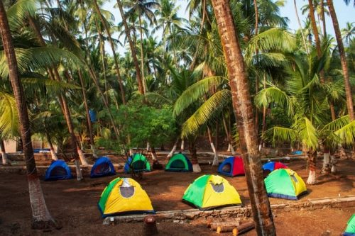 Tent Stay at Alibaug