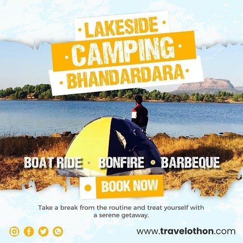 Bhandardara Camping Lakeside